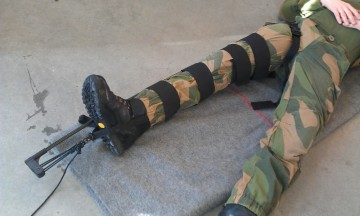 CT-6 Military Leg Traction Splint